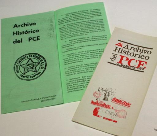 Archivo Hist??rico PCE