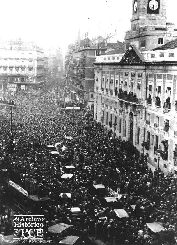 14 de abril de 1931 proclamaci n de la ii rep blica for Puerta del sol hoy en directo
